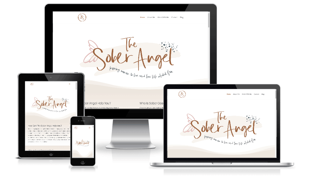The Sober Angel Website